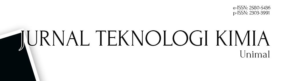 Jurnal Teknologi Kimia Unimal